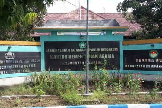 Kantor Kemenag Sampang (foto:pojoksuramadu)