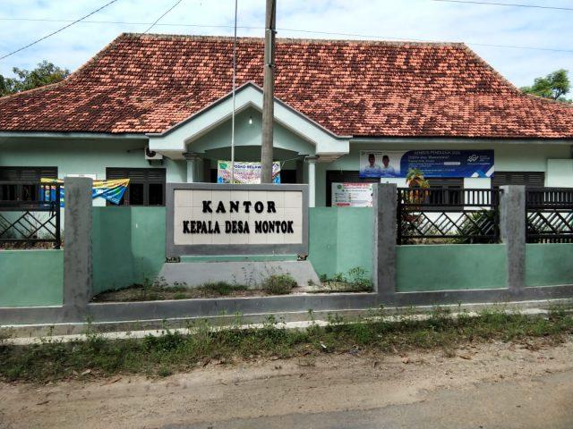 Balai Desa Montok Kecamatan Larangan Kabupaten Pamekasan (foto:pojoksuramadu)